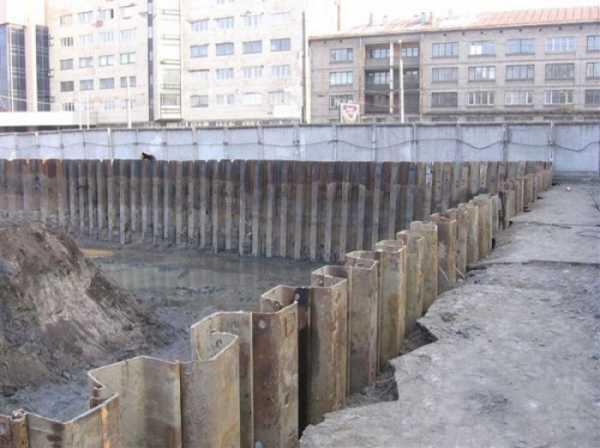 шпунты в строительстве